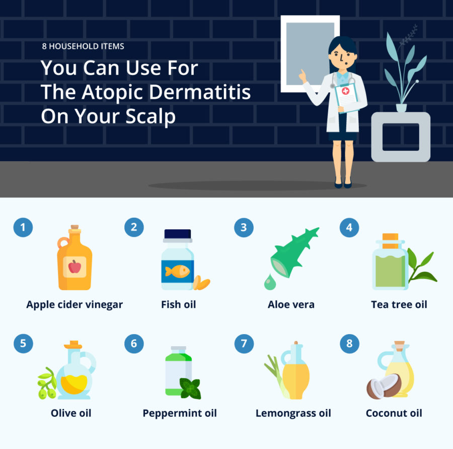 8-Household-Items-You-Can-Use-For-The-Atopic-Dermatitis-On-Your-Scalp