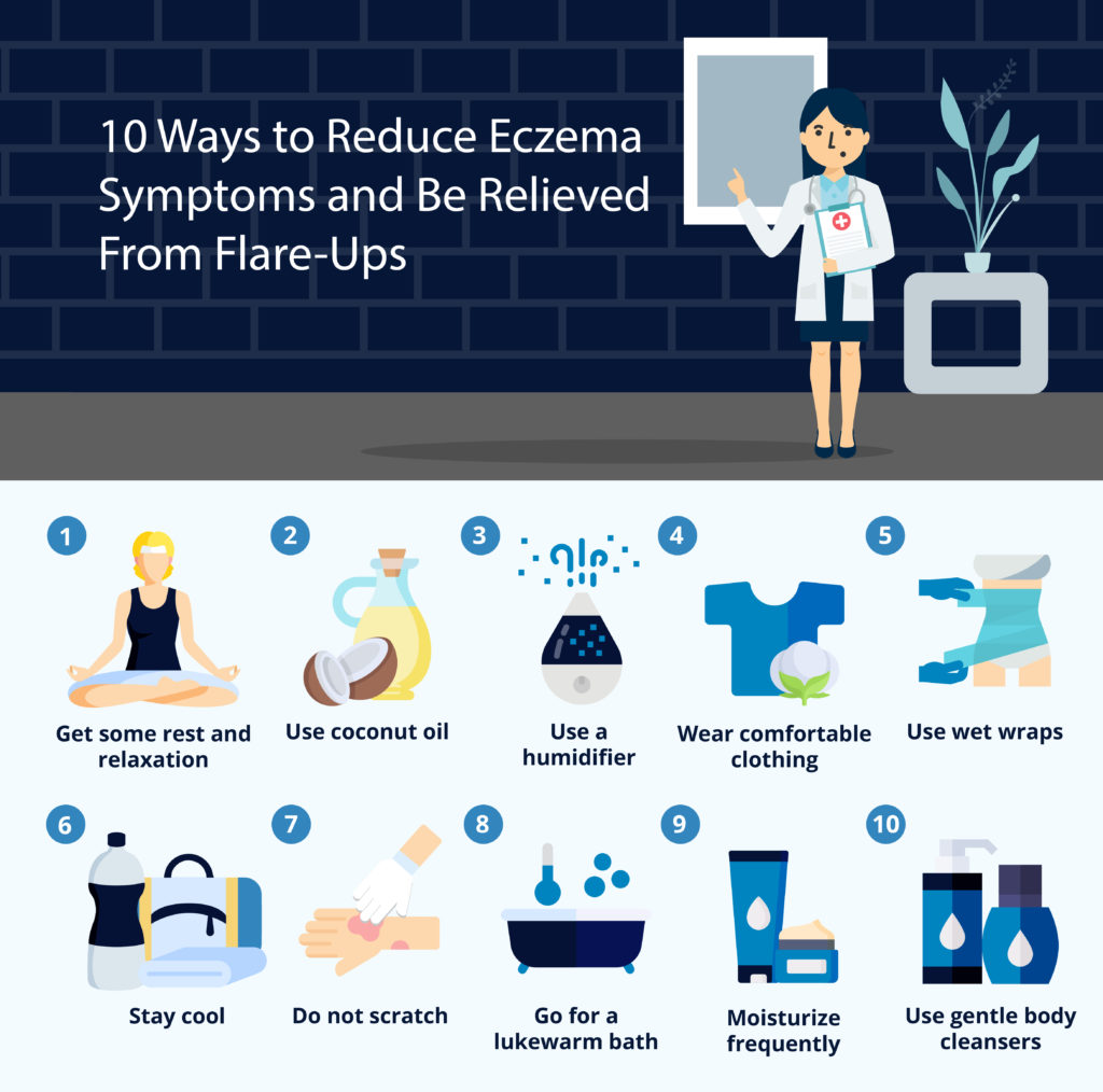 10 Ways to Reduce Eczema Symptoms and Be Relieved From Flare-Ups