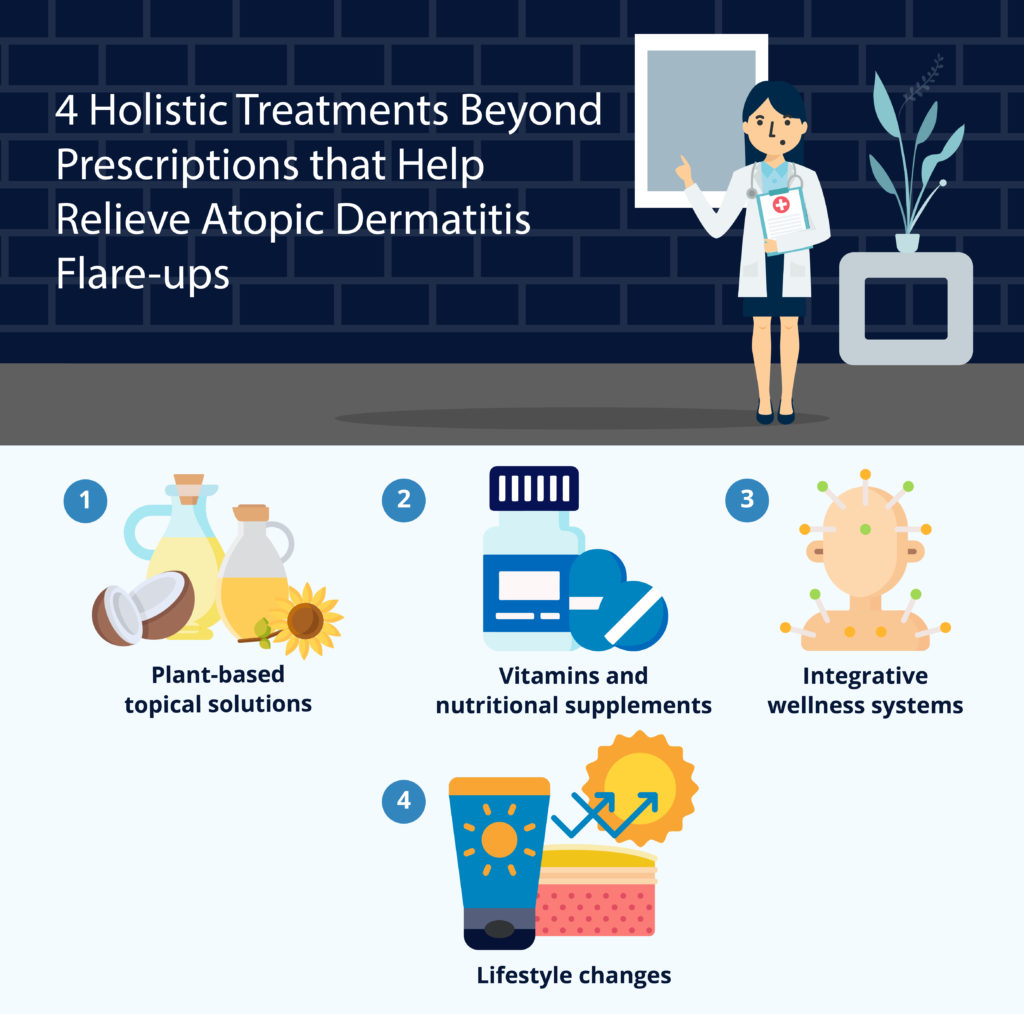 4 Holistic Treatments Beyond Prescriptions that Help Relieve Atopic Dermatitis Flare-ups